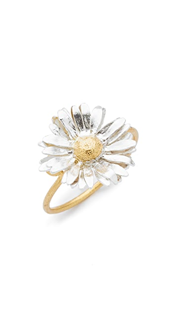Alex Monroe Big Daisy Ring