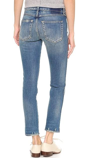 AMO Kate Crop Straight Leg Jeans