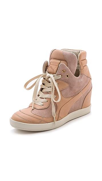 Alexander McQueen PUMA Ofeya Hidden Wedge Sneakers