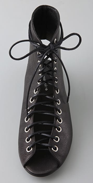 American Retro Athena Lace Up Booties
