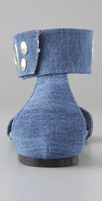 American Retro Cru Grommet Sandals