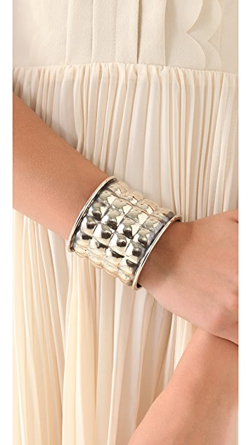 Anndra Neen Quilted Bangle