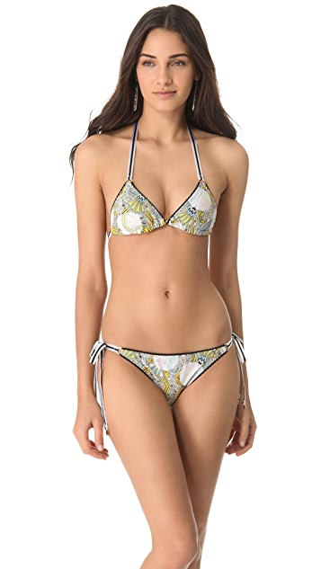 Anna & Boy Sliding Triangle Bikini with Rings