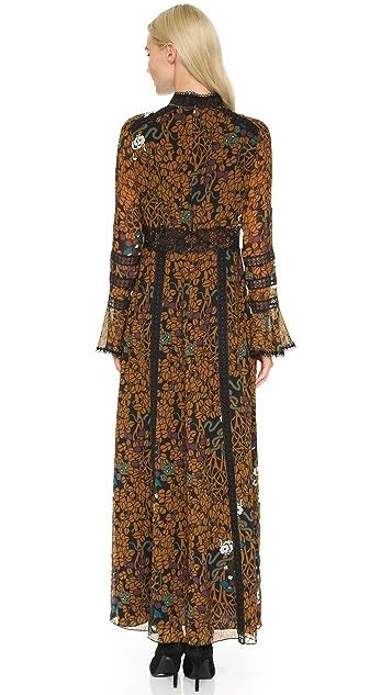 Anna Sui Garden of Eden Maxi Dress