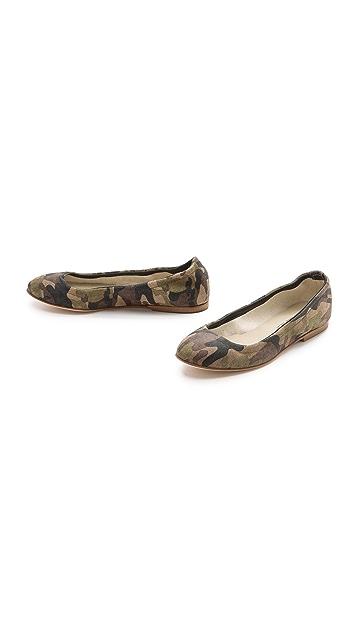 Anniel Camo Ballet Flats