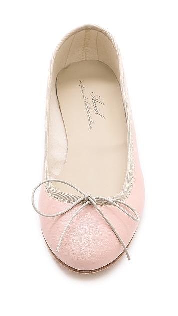 Anniel Leather Ballet Flats