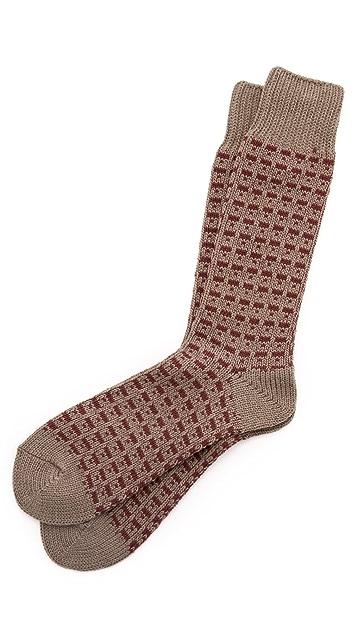 Anonymous Ism Broken Line Socks