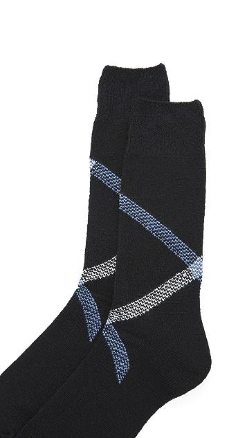 Anonymous Ism Path Cross Crew Socks