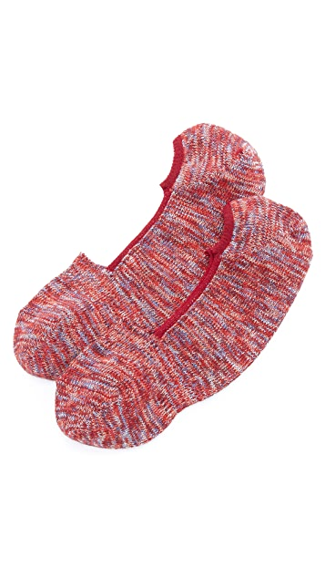 Anonymous Ism Mix Intact Loafer Socks