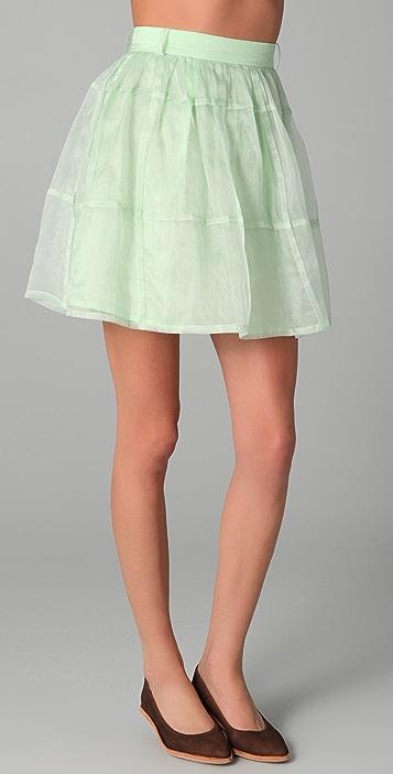 Antipodium Checker Skirt