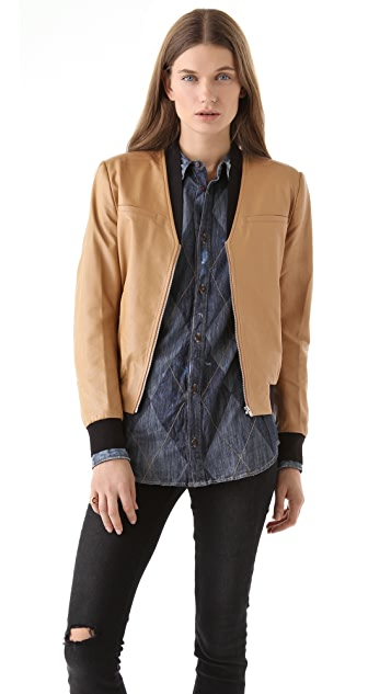 Antipodium 3 Colts Bomber Jacket