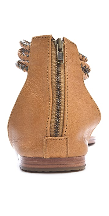 Antik Batik Dafne 3 Band Flat Sandals