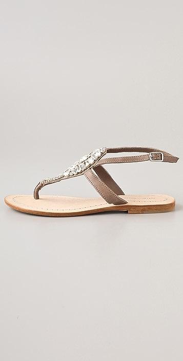 Antik Batik Sienna Crystal Thong Sandals