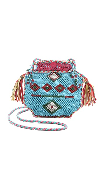 Antik Batik Merro Beaded Bag
