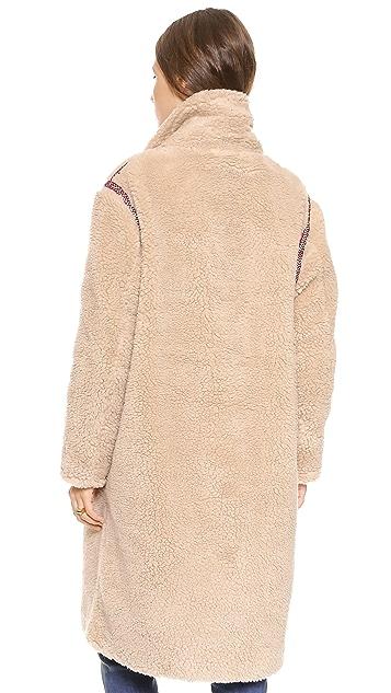 Antik Batik Sable Coat