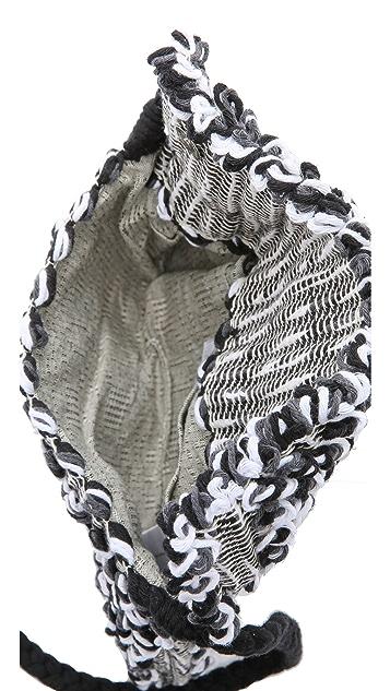 Antonello Chunky Knit Suni Clutch