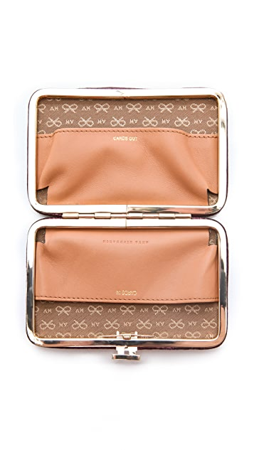Anya Hindmarch Wilkes Miami Card Wallet