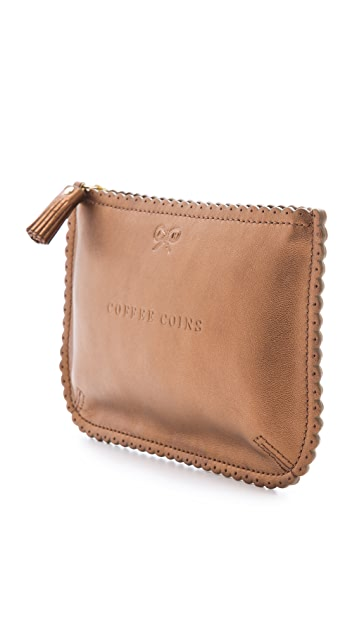 Anya Hindmarch Loose Pockets Coffee Coins Pouch