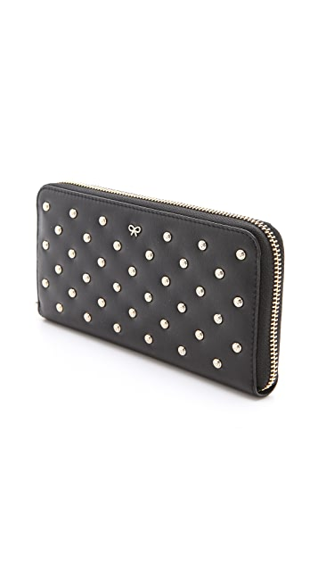 Anya Hindmarch Studded Joss Wallet