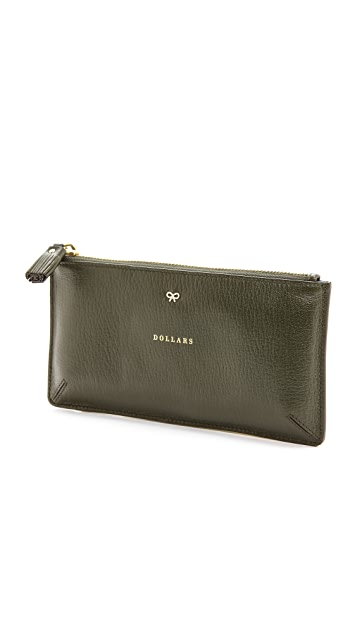 Anya Hindmarch Large Loose Pockets Dollars Pouch