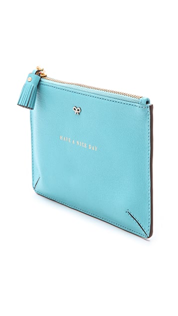 Anya Hindmarch Have a Nice Day Loose Change Pouch