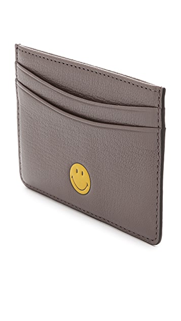 Anya Hindmarch Smiley Card Case