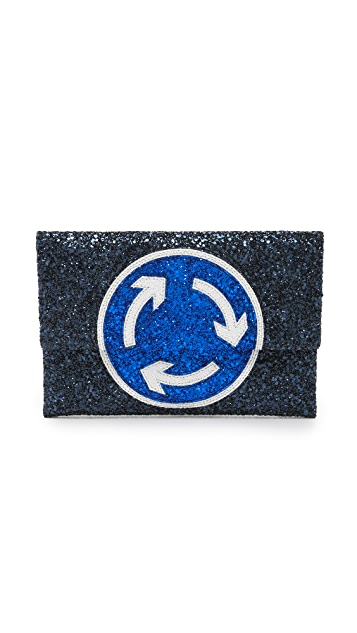 Anya Hindmarch Valorie Roundabout Clutch