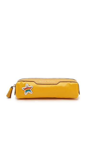 Anya Hindmarch Star Pens and Pencils Pouch