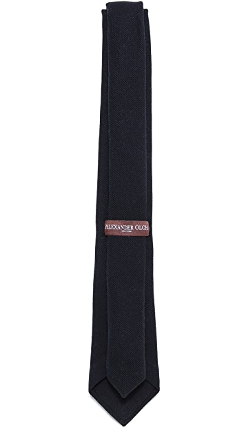 Alexander Olch Bank Knit Tie