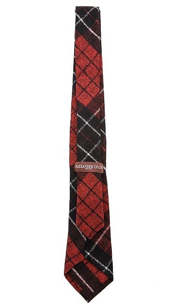 Alexander Olch Advocate Plaid Necktie