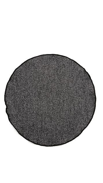 Alexander Olch Grey Brown Pocket Round