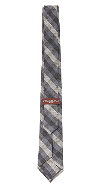 Alexander Olch Medium Plaid Necktie