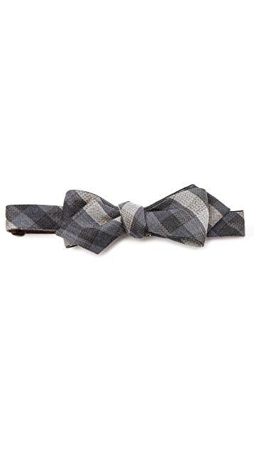 Alexander Olch Medium Plaid Bow Tie