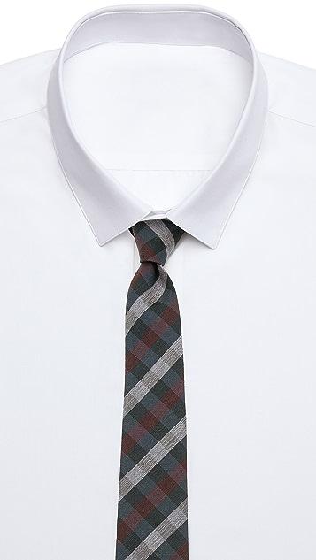 Alexander Olch Medium Plaid Wool Necktie