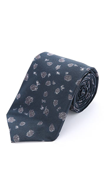 Alexander Olch The Archer Flower Print Necktie