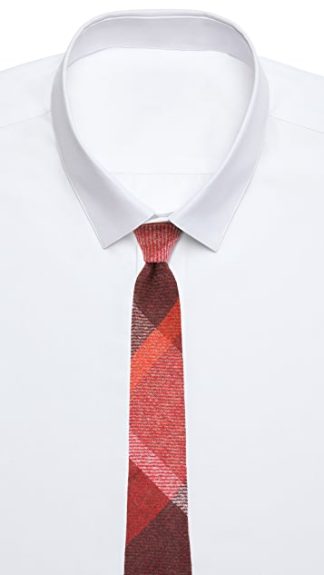 Alexander Olch The Pinwheel Large Plaid Necktie