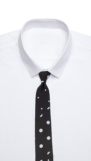 Alexander Olch The Split Spot Mixed Polka Dot Necktie