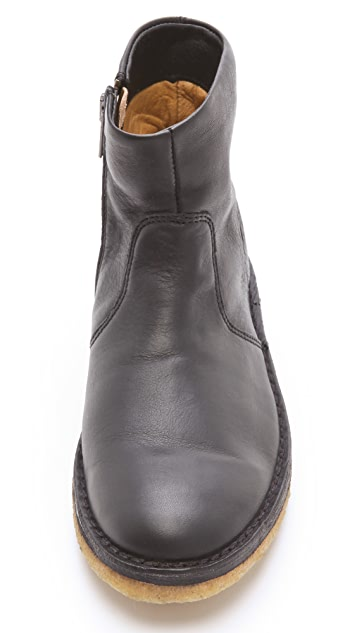 A.P.C. Zip Ankle Booties
