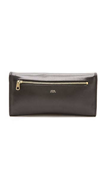 A.P.C. Long Portefeuille Wallet