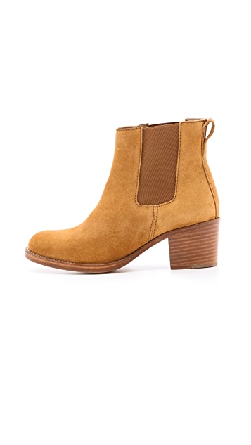A.P.C. Chelsea Suede Booties