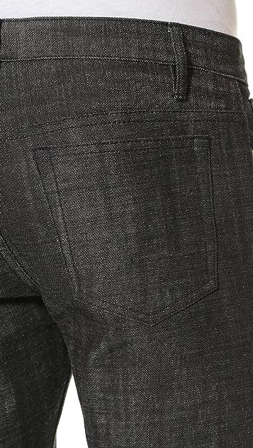 A.P.C. Petit Standard Black Jeans