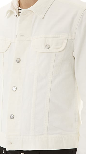 A.P.C. White Denim Jean Jacket