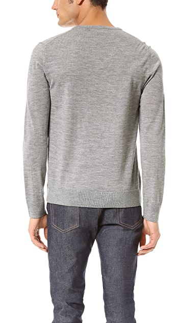 A.P.C. V Neck Sweater