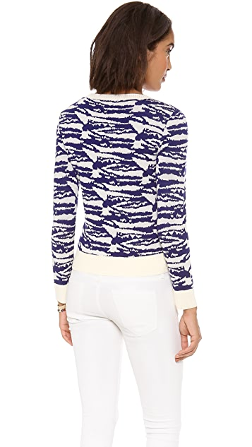 A.P.C. Intarsia Crew Neck Sweater