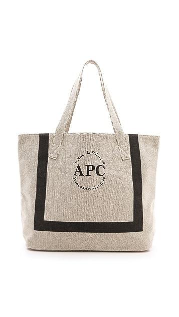 A.P.C. Small Beach Bag