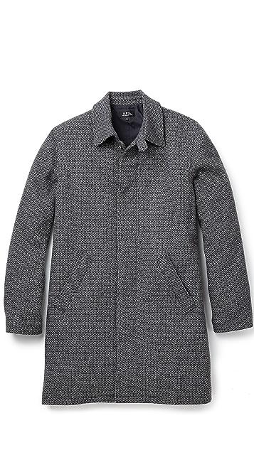 A.P.C. Raglan Mac Coat