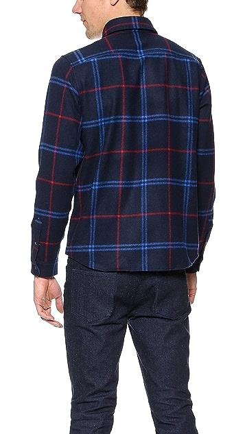 A.P.C. Hunter Flannel Shirt