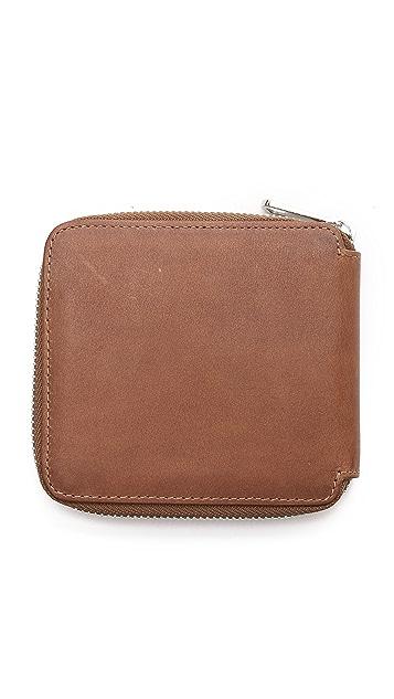 A.P.C. New Compact Zip Wallet
