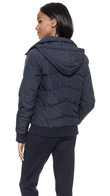 A.P.C. Padded Bomber Hooded Jacket