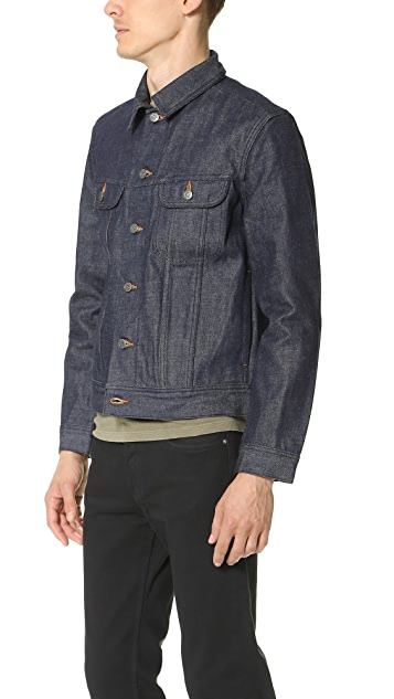 A.P.C. New Raw Denim Jacket
